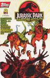 Cover for Jurassic Park: Raptors Attack (Topps, 1994 series) #2