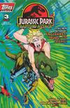 Cover for Jurassic Park: Raptors Attack (Topps, 1994 series) #3