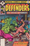 Cover Thumbnail for The Defenders (1972 series) #52 [Whitman]