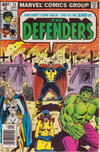 Cover Thumbnail for The Defenders (1972 series) #75 [Newsstand Edition]