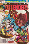 Cover for The Defenders (Marvel, 1972 series) #90 [Newsstand]