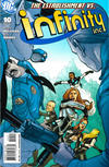 Cover for Infinity Inc. (DC, 2007 series) #10