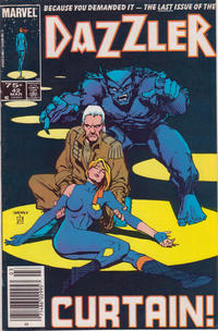 Cover Thumbnail for Dazzler (Marvel, 1981 series) #42 [Newsstand Edition]