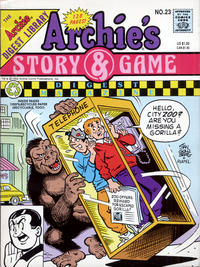 Cover Thumbnail for Archie's Story & Game Digest Magazine (Archie, 1986 series) #23
