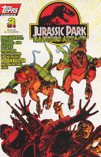 Cover Thumbnail for Jurassic Park: Raptors Attack (Topps, 1994 series) #2