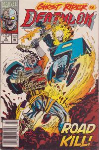 Cover Thumbnail for Deathlok (Marvel, 1991 series) #9 [Newsstand]