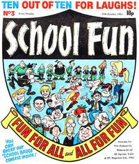 Cover Thumbnail for School Fun (IPC, 1983 series) #3