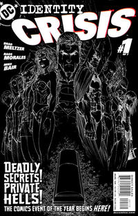 Cover Thumbnail for Identity Crisis (DC, 2004 series) #1 [Second Printing]