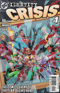 Cover Thumbnail for Identity Crisis (DC, 2004 series) #1 [Third Printing]