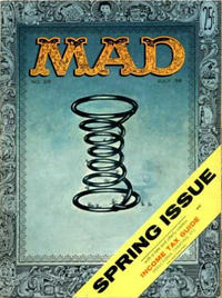 Cover Thumbnail for Mad (EC, 1952 series) #28 [Useless Income Tax Guide]