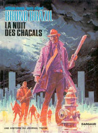 Cover Thumbnail for Bruno Brazil (Dargaud, 1969 series) #5 - La nuit des chacals