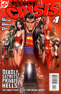 Cover Thumbnail for Identity Crisis (DC, 2004 series) #1 [Fourth Printing]