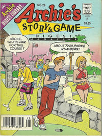 Cover Thumbnail for Archie's Story & Game Digest Magazine (Archie, 1986 series) #28
