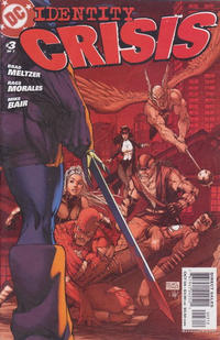 Cover Thumbnail for Identity Crisis (DC, 2004 series) #3 [Second Printing]