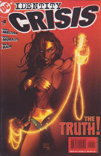 Cover Thumbnail for Identity Crisis (DC, 2004 series) #4 [Second Printing]