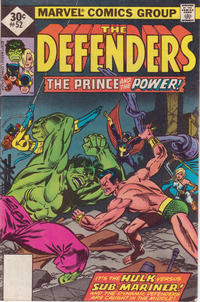 Cover Thumbnail for The Defenders (Marvel, 1972 series) #52 [Whitman]
