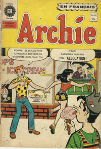 Cover Thumbnail for Archie (Editions Héritage, 1971 series) #18