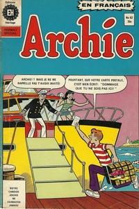 Cover Thumbnail for Archie (Editions Héritage, 1971 series) #62