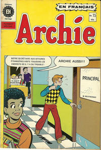 Cover Thumbnail for Archie (Editions Héritage, 1971 series) #73