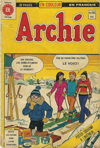 Cover Thumbnail for Archie (Editions Héritage, 1971 series) #100
