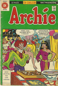 Cover Thumbnail for Archie (Editions Héritage, 1971 series) #108