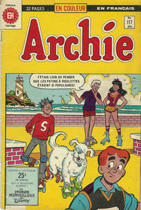 Cover Thumbnail for Archie (Editions Héritage, 1971 series) #117