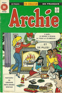 Cover Thumbnail for Archie (Editions Héritage, 1971 series) #135
