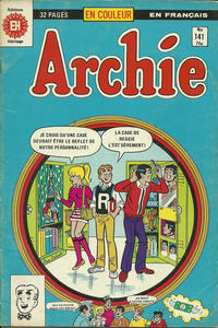 Cover Thumbnail for Archie (Editions Héritage, 1971 series) #141