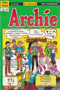 Cover Thumbnail for Archie (Editions Héritage, 1971 series) #156