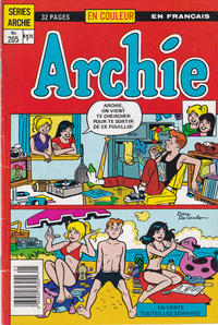 Cover Thumbnail for Archie (Editions Héritage, 1971 series) #205