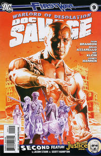 Cover for Doc Savage (DC, 2010 series) #9