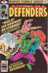 Cover Thumbnail for The Defenders (Marvel, 1972 series) #78 [Direct]
