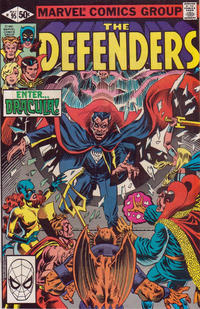 Cover Thumbnail for The Defenders (Marvel, 1972 series) #95 [Direct]