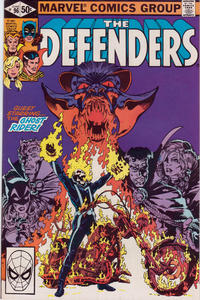 Cover Thumbnail for The Defenders (Marvel, 1972 series) #96 [Direct]