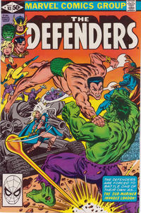 Cover Thumbnail for The Defenders (Marvel, 1972 series) #93 [Direct]