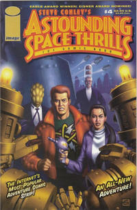 Cover Thumbnail for Astounding Space Thrills: The Comic Book (Image, 2000 series) #4