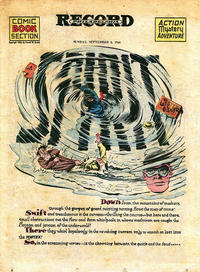Cover Thumbnail for The Spirit (Register and Tribune Syndicate, 1940 series) #9/8/1946
