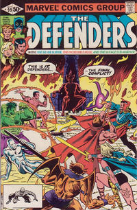 Cover Thumbnail for The Defenders (Marvel, 1972 series) #99 [Direct]