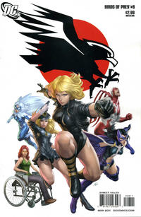 Cover Thumbnail for Birds of Prey (DC, 2010 series) #8