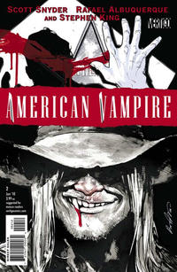 Cover Thumbnail for American Vampire (DC, 2010 series) #2 [2nd Printing]