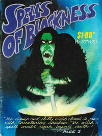 Cover Thumbnail for Spells of Blackness (Gredown, 1982 series) #[nn]