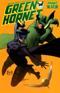 Cover Thumbnail for Green Hornet (Dynamite Entertainment, 2010 series) #10 [Joe Benitez Cover]