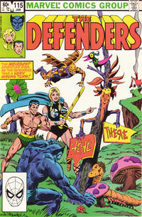 Cover Thumbnail for The Defenders (Marvel, 1972 series) #115 [Direct]