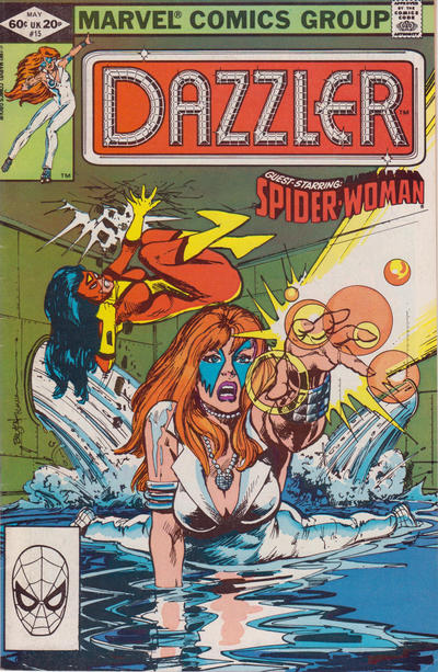 Cover for Dazzler (Marvel, 1981 series) #15 [Direct Edition]