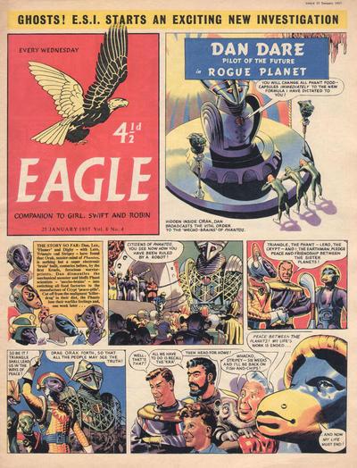 Cover for Eagle (Hulton Press, 1950 series) #v8#4