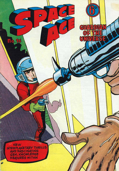 Cover for Space Ace (Atlas Publishing, 1960 series) #16