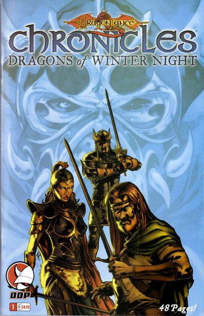 Cover for Dragonlance: Chronicles Vol. II (Devil's Due Publishing, 2006 series) #1