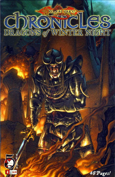 Cover for Dragonlance: Chronicles Vol. II (Devil's Due Publishing, 2006 series) #4