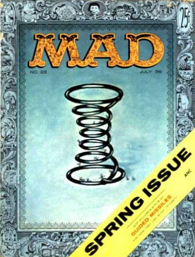 Cover for MAD (EC, 1952 series) #28