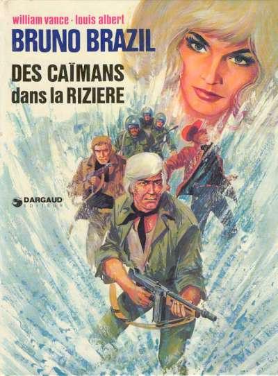 Cover for Bruno Brazil (Dargaud, 1969 series) #7 - Des caïmans dans la rizière